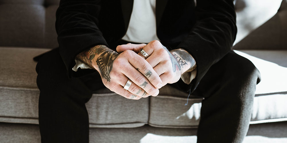 Stick to your tattoos during a job interview: It's a part of your personality and your employer will find out about them sooner or later anyway.