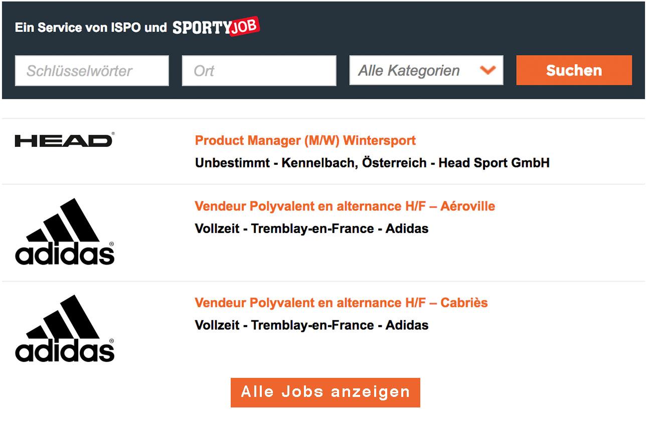 Integrieren Sie den Sport Job Ticker direkt auf Ihrer Website