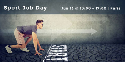 Sport Job Day: Our recruitment event on the 13th of June in Paris