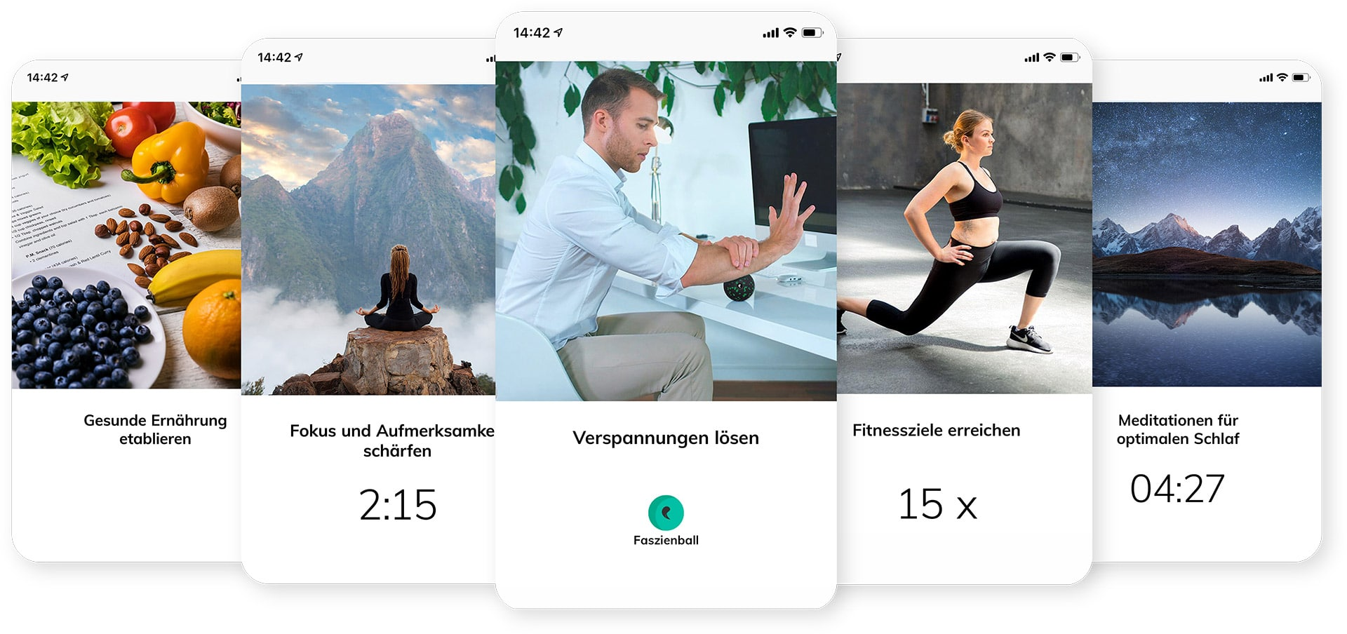 The Design and Content of the Humanoo App