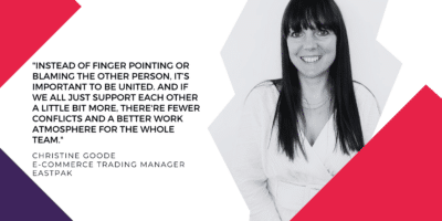 Interview with Christine Goode, Merchandising Trade Manager at Eastak